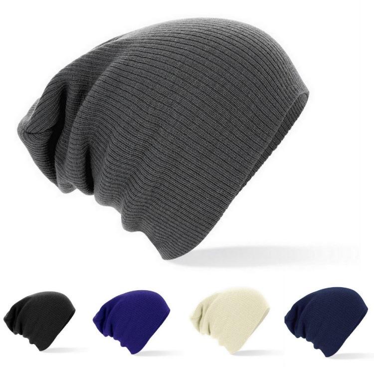 2015-nuevo-invierno-gorros-sombrero-Color-sólido-Unisex-llanura-Warm-Soft-Skull-Beanie-Knit-Cap-sombreros